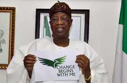 Lai Mohammed explains 'Change begins with me campaing'