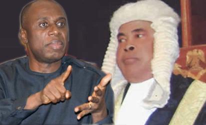 Amaechi and Justice Ngwuta