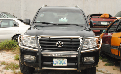 Customs impounds 13 bullet proof cars, 5 others in Abuja