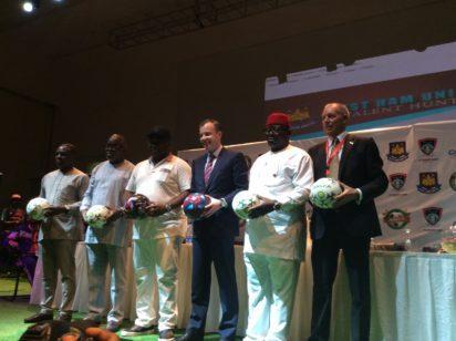 West Ham United meets NFF, FC Ifeanyi Ubah in Lagos.