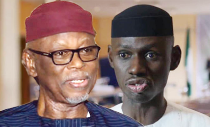 APC National Chairman, Chief John Odigie-Oyegun and Acting National Publicity Secretary Comrade Timi Frank