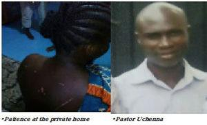 •Patience at the private home & •Pastor Uchenna