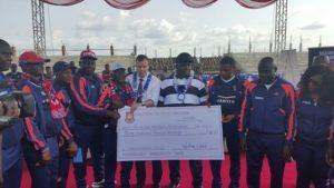 WEST HAM donates £35,000 to Anambra football club, school