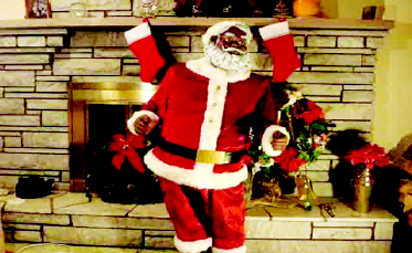 •Africa Santa on the way to Nigerian homes
