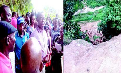 •Dr Amos Abu and Nyahasang people and devastated Nyahasang