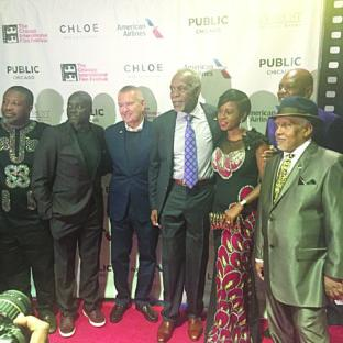 Hollywood actor, Danny Glover, producer, Bola Austin Peter and others at 93 Days screening