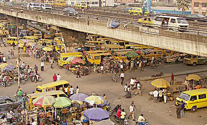 Inside Lagos 'under – bridge' money-spinning markets