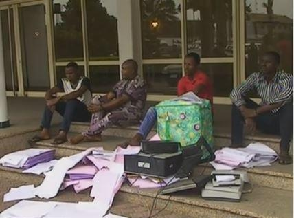 Police burst fake INEC result printing press, printers in Rivers