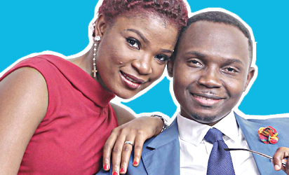 'Teju Babyface', Teju Oyelakin, is proud to tell anyone that cares to listen that he married the love of his life, Tobi
