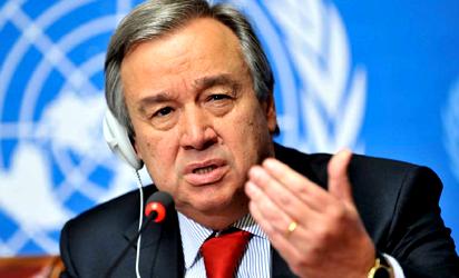 Antonio Guterres, Africa