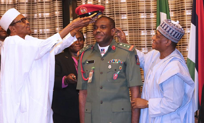 Insurgency: Buhari assures army of support for nation's stability