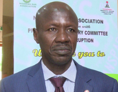 Anti-corruption fight a thankless job – Magu
