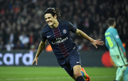 100 up for insatiable Cavani as PSG win without Neymar