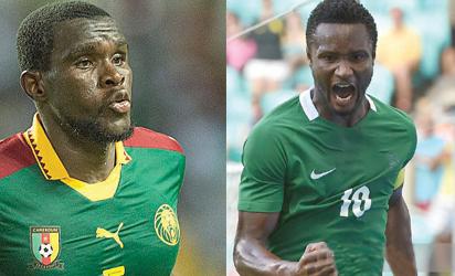 FIFA names refs for Nigeria/Cameroon clash