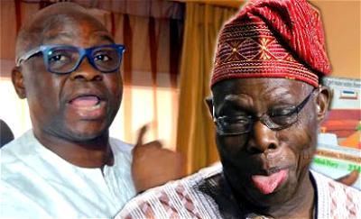 Fayose-Obasanjo