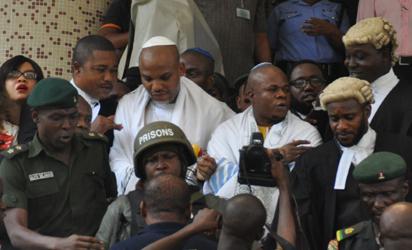 Kanu's sureties risk imprisonment, N100m if… – Obono-Obla