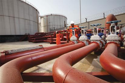 Nigeria's oil export rises by 150,000 bpd