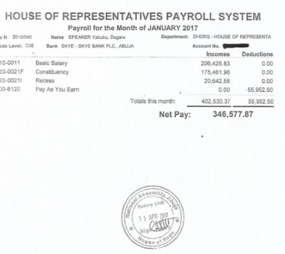 Dogarau0027s 6 Months PaySlip  Monthly Pay Slip