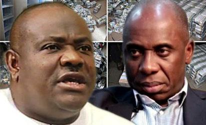 Wike, Amaechi's convoys clash in Port Harcourt