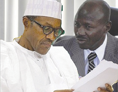 Buhari, AGF react to suit seeking Magu's removal as EFCC boss