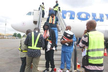 Breaking: 257 Libya returnees arrive Lagos