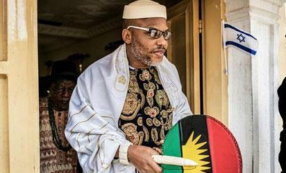 Nnamdi Kanu and alleged friends in high places