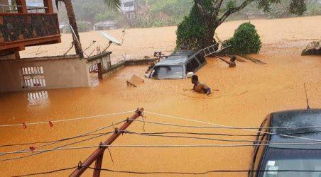312 dead as mudslides, flooding sweep through Sierra Leone capital