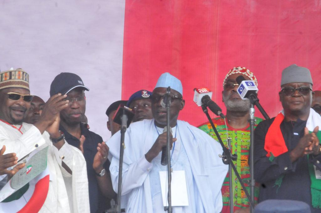 PDP extends Makarfi's tenure, dissolves Excos In 7 states