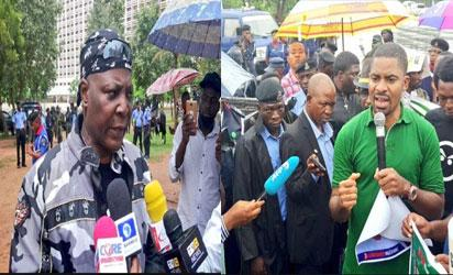 Breaking: Charly Boy, Adeyanju threaten court actions against Buhari, suspend Abuja protests