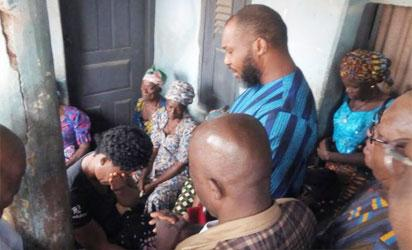 UPP Primary mishap: Mournful Chidoka visits deceased family, demands justice