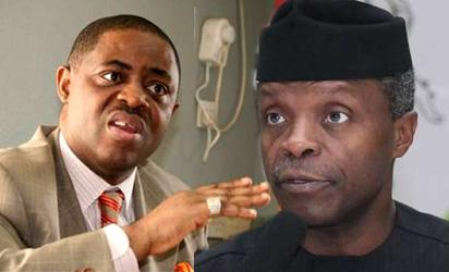 Osinbajo's nightmare has just started, says Fani-Kayode