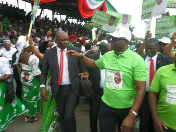 'I'm already in Aso Rock' - Fayose boasts at PDP convention