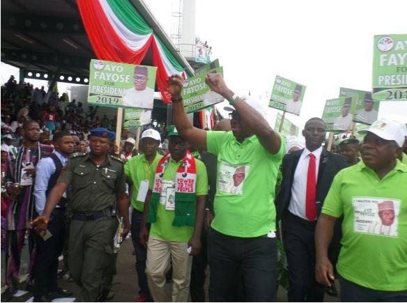 APC is Boko Haram, PDP is a religion - Fayose