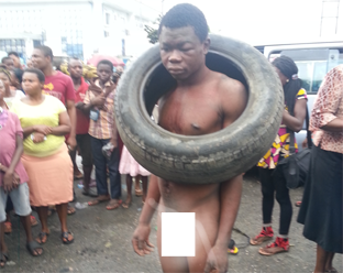 Garri thief escapes while mob hunts for petrol to set him ablaze