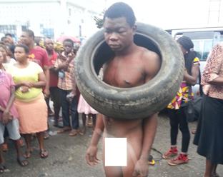 Garri thief escapes while mob hunts for petrol to set him ablaze