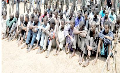 Police arrest 40 kidnappers on Abuja-Kaduna Highway, rescue 3 victims