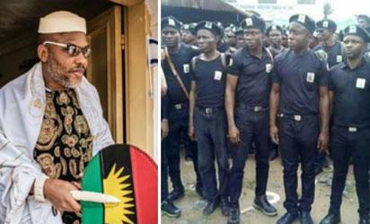 IPOB: Biafra security service trainer 'Ebeje Nnamdi' arrested in Anambra