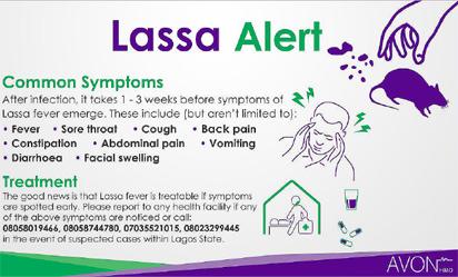 Return of Lassa fever: The vital signs