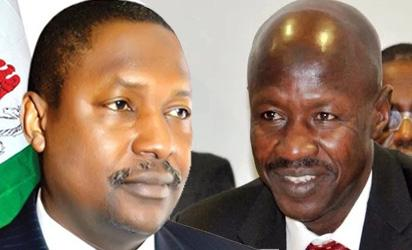 EFCC denies alleged showdown with AGF