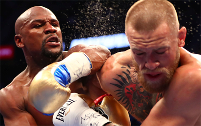 Mayweather-McGregor gate receipts short of record