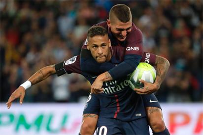 Neymar scores on home PSG debut