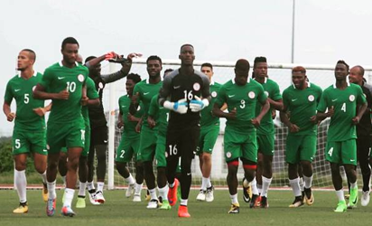 Dalung leads Pinnick, Sanusi, Rohr, others to watch Eagles play Ghana