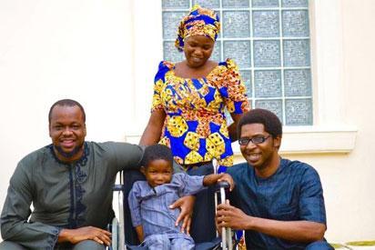 Chibok boy paralyzed by Boko Haram gets help