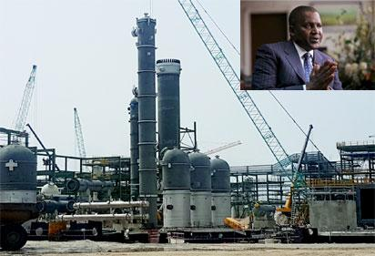 AG Dangote begins relocation of gas pipes stalling Apapa-Wharf  Road  reconstruction