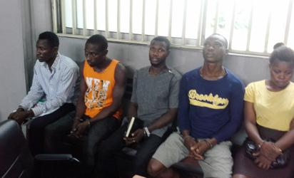 DSS arraigns members of dreaded kidnap group  in PH  court