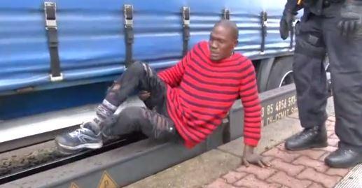 Photos: Somalia, Nigeria, Ivory Coast migrants caught caught by heat-detecting camera