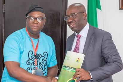 Obaseki partners COREN to check inflated road contracts