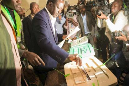 Kenya's Odinga to announce strategy on 'stolen' poll Tuesday