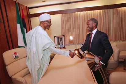 Buhari, Osinbajo meet in closed-door