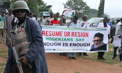 Why we tear gassed anti-Buhari protesters in Abuja – Police